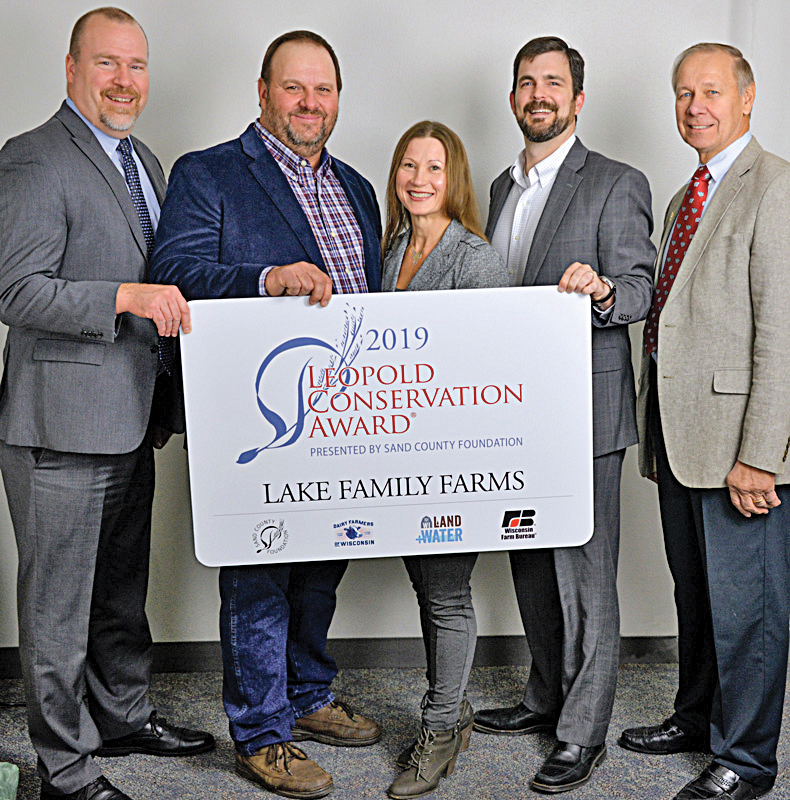 2019 Leopold Award to Lake Family Farms
