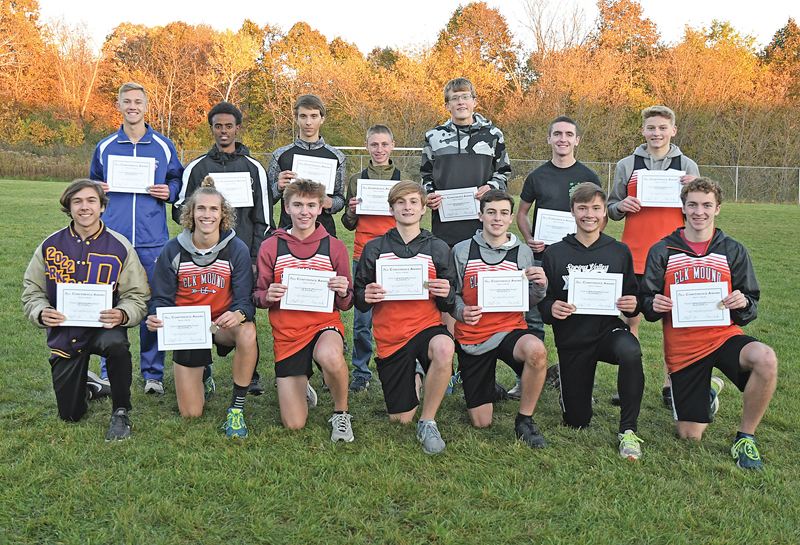 2019 DSC boys All Conference cross country
