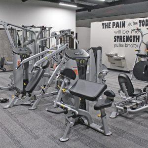 B Fit Gym machines