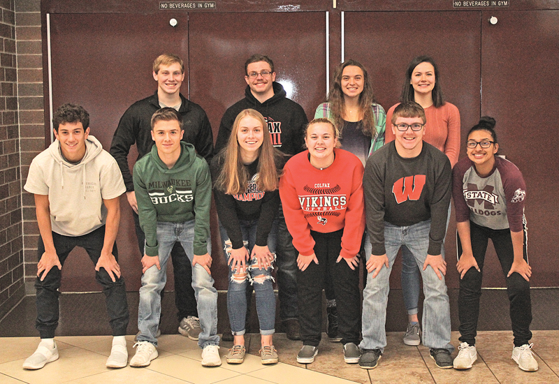 Colfax All Conference FB VB photo