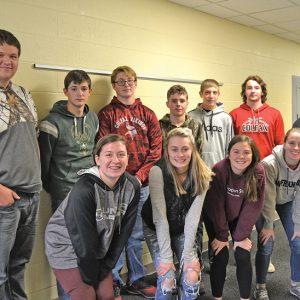 Colfax High School soil judging team
