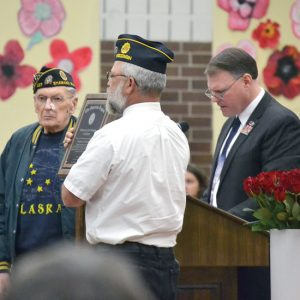 Colfax Veterans Day Vern Hoveland