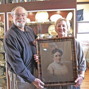 Hones portrait Colfax Railroad Museum