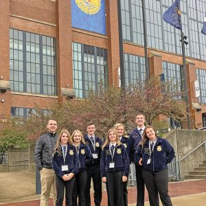 GC FFA members attend national convention