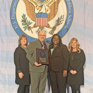TCE National Blue Ribbon School Award winner photo