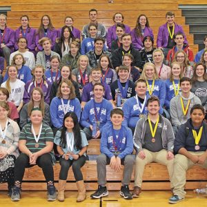 The Boyceville Science Olympiad teams