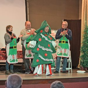 Looney Lutherans group stage game show