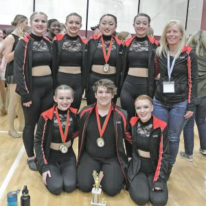 Colfax Varsity Dance Team