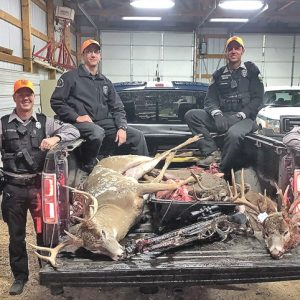 Dunn County Conservation Wardens seize three bucks thought to have been illegally killed