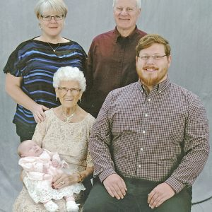 Gladys Berg 5 generations