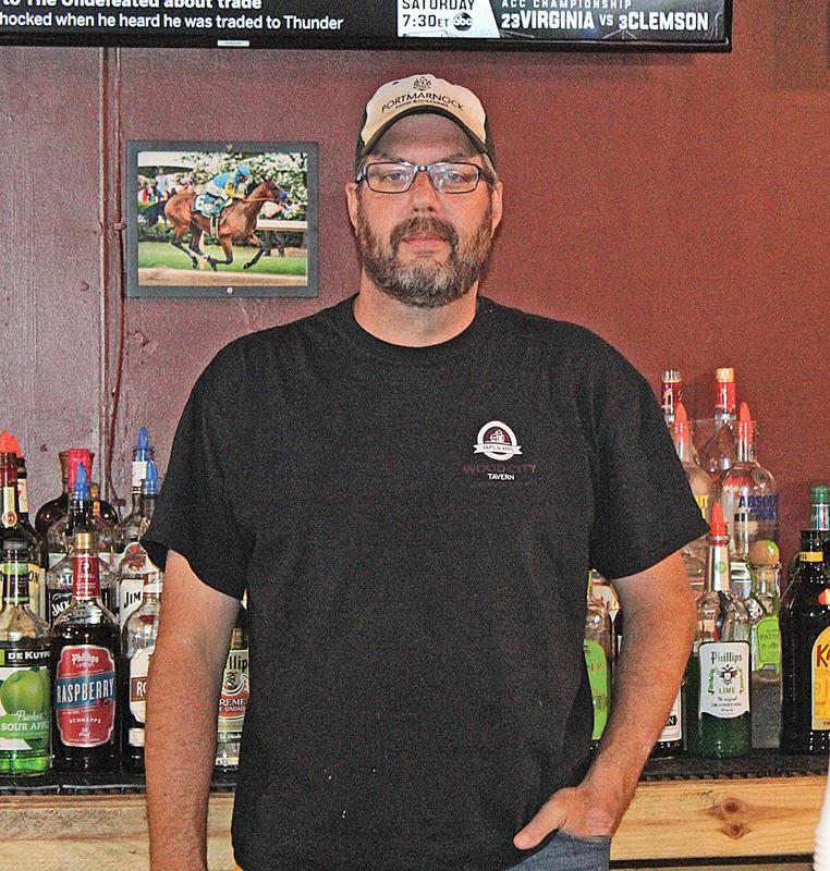 Wood City Tavern owner Kent Kletscher