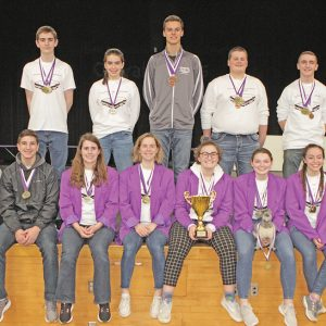 13th Annual Science Olympiad team photo