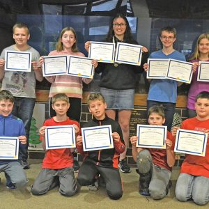 Colfax Elementary Geography Bee Winners