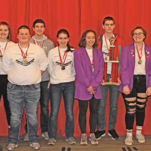 Boyceville Science Olympiad high school team