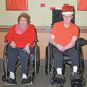 2020 Glenhaven Valentine Royalty Paula Standaert and Willard Tronrud