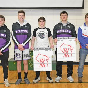 Five local wrestlers earn state berths