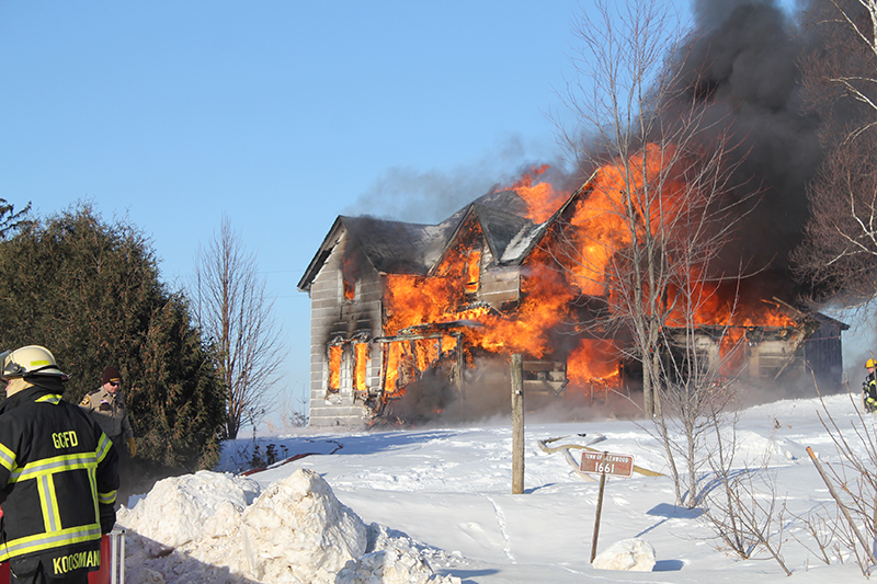 290th Street House Fire photo