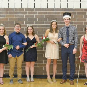 CHS Winter Carnival Court 3 Feb 2020