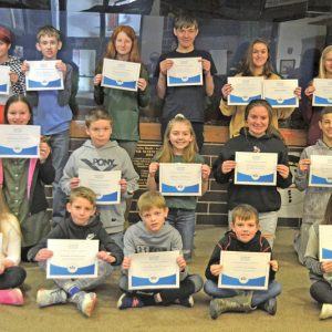 Colfax Elementary spelling bee winners 2020