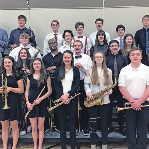 Dunn-St Croix Honors Choir and Band members from Colfax