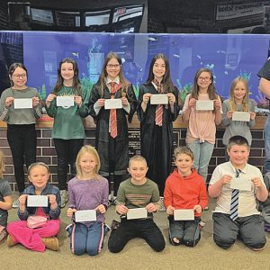 Colfax Fire Department poster contest winners