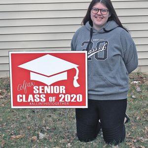 Colfax Senior Signs Lillie Hayden
