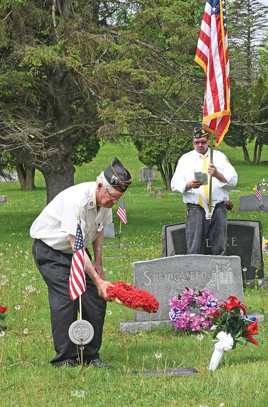 Memorial Day 2020 Downing Cemetery