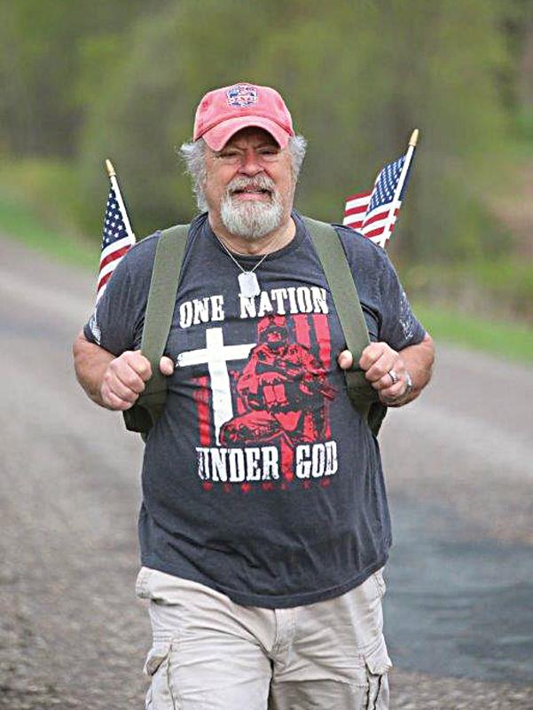 Rob Evans memorial walk