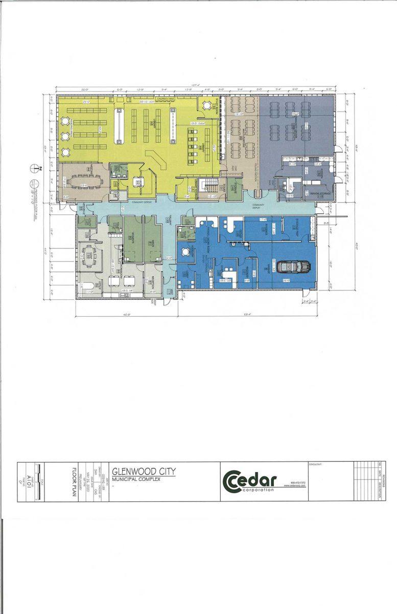 New Municipal Building plans