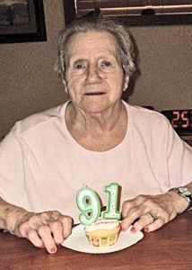 Bev Thompson's 91st Birthday. —photo submitted