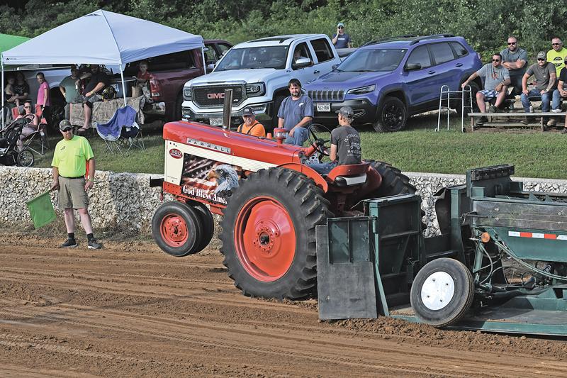 Red Cedar Pullers July 2020 Pull