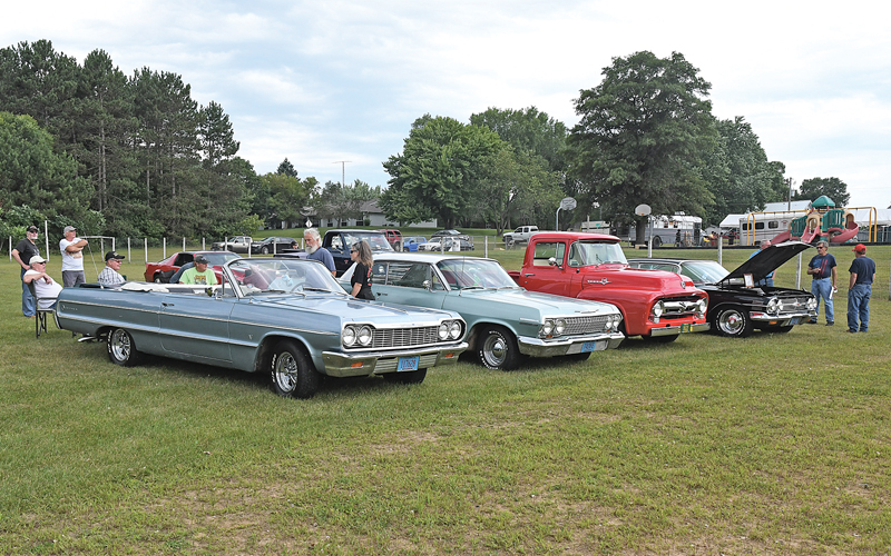 2020 Wheeler Days car display