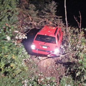 Accident in Glenwood Township
