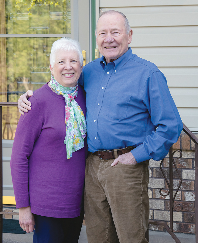 Judy and Julian Bender Glenwood City RusticLore Days Grand Marshals 2020