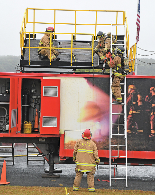 WITC Fire Training at Boyceville