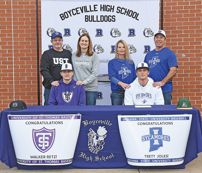 Retz, Joles sign D1 baseball tenders