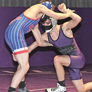 BV Wrestling vs Glenwood City Brice Evenson