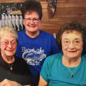 Sharon Lansing, Joyce Hellendrung, and Shirley Huey
