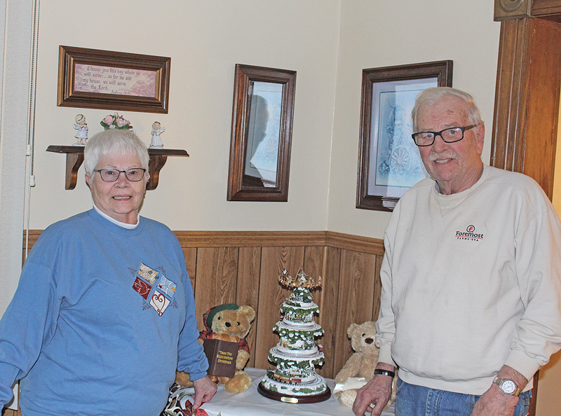 Mary and Len Lagerstrom