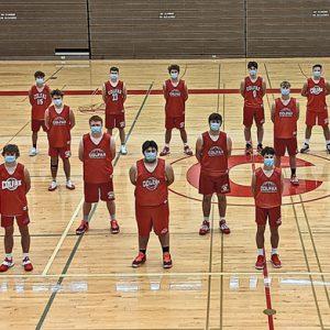 The 2020-21 Colfax Boys' Basketball Team
