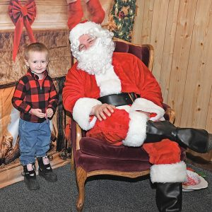 Santa at Jack's Place Pittman