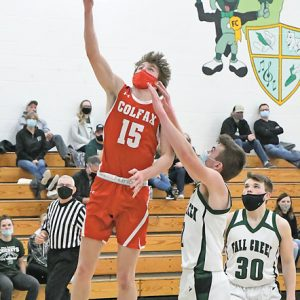Colfax BBB at Fall Creek Regional Caden Erickson