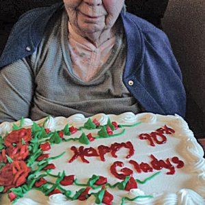 Gladys Best's 90th Birthday