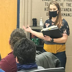 Jodi Main addresses GC School Board