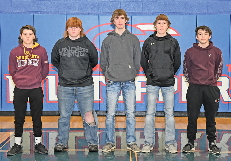 GC All Conference wrestlers