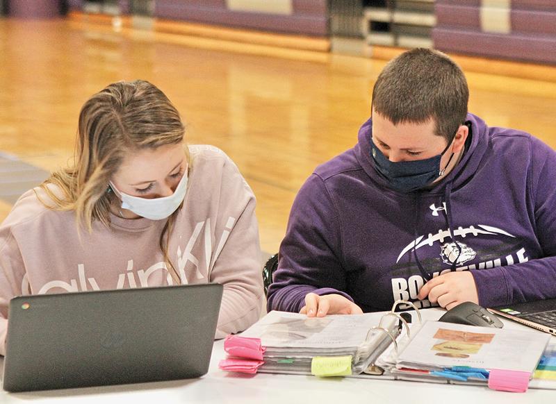 BV Science Olympiad Ella Holden and Brady Helland