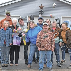 Kathy Hanson surprise 80th birthday