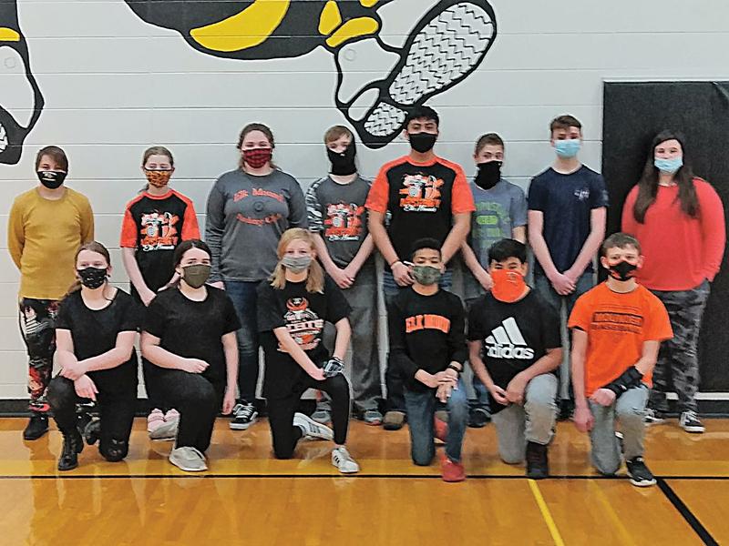 EM Middle School Archery team