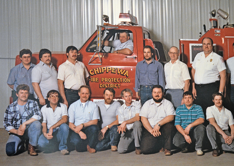 Vernon Schindler photo with fire district