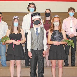 2021 Colfax Winter Carnival Royal Court